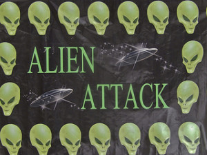 Alien Attach by Mike Coghlan