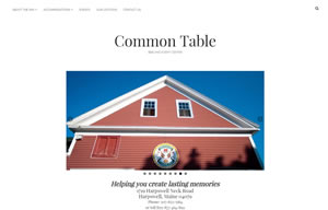 Screen shot of Common Table